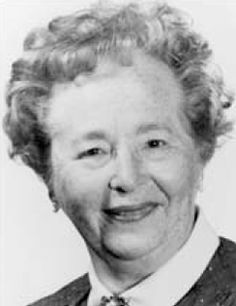 Gertrude Belle Elion. Self made female scientist and Noble Prize winner.