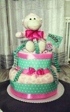 Torta di Pannolini/Diaper Cake