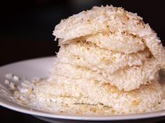 Rice Cake rolled in sugar and grated coconut