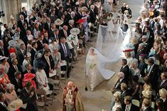 Meghan Markle Weds In A Givenchy Wedding Dress By Clare Waight Keller