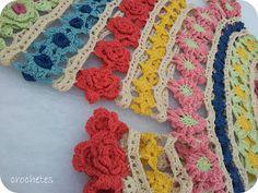 Crochets 190 flowers