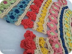 Crochets 190 flowers