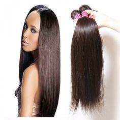 Hair Icenu Series Malaysian Virgin Straight 4pcs Pack