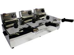 Fritadeira Elétrica 5L Inox Turbo - Cotherm Três Cubas com as melhores condições você encontra no Magazine Linhatotal. Confira!
