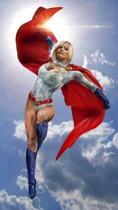 Power Girl - Kara Zor L aka Karen Starr