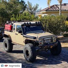 #Repost @kegmedia with @repostapp. ・・・ Can't get enough of this badass JK8 from @cmcnwa that debuted at #SEMA2015 in the #RigidIndustries booth. Who likes a SuperCharged Jeep that's definitely trail ready? @rock_krawler @rippsuperchargers @addoffroad @atxwheels @rigidindustriesofficial @metalcloak @roadwireleatherinteriors @g2axle @theoriginalsmittybilt @spodguy @warnindustries @factor55llc @viaircorp @diablosportllc @magnaflow @truckliteco @boltlock @prismaticpowders @kw_kustoms…