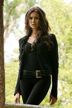 Everyone loves a good villain. Dress up as Katherine Pierce for Halloween