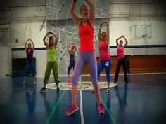 ▶ Zumba Routine to Shake Senora by Pitbull - YouTube