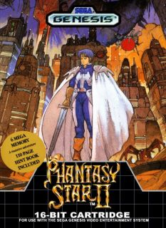 phantasy star japanese box art sega mega drive awesome japanese rh pinterest com Phantasy Star 2 Genesis Phantasy Star 2 PC