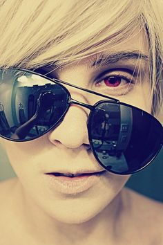 Umm...hey there sexy! (Dave Strider cosplay)