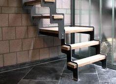 ÜP - Compacte trapladder voor zolder of mezzanine