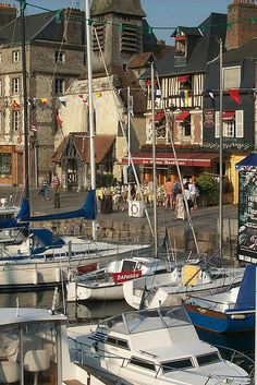honfleur, in normandy:  often here with friends from paris, especially in the heat of summer when normandy and brittany beckon <3