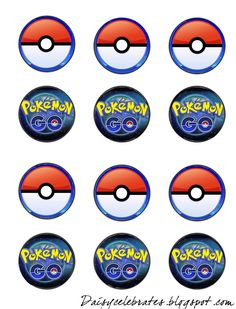 FREE Pokemon Go Birthday Party bingo, cupcake toppers, banner printable files Group Games For Kids, Kids Party Games, Birthday Party Games, Cake Birthday, 11th Birthday, Birthday Ideas, Pokemon Birthday, Pokemon Party, Pokemon Go