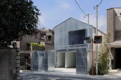 Japanese architecture office Case-Real has completed a house on a compact site in Tokyo featuring galvanised steel cladding and a concealed rooftop terrace. Japanese Architecture, Architecture Office, Fukuoka, Steel Cladding, Internal Courtyard, Steel Panels, Wooden House, Japanese House, Story House