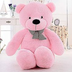 e9ddc76c04f Giant Plush Teddy Bear Stuffed Animal Soft Toy Huge Large Jumbo Gift New