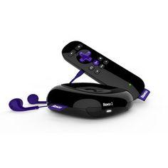 Roku 2 1080p Streaming Media Player - Black