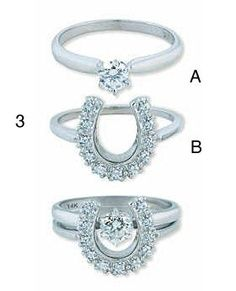 Country Wedding Rings Promise Western Jewelry