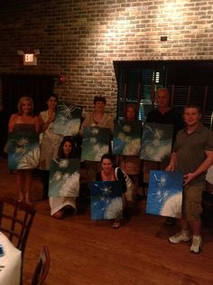 """""""Wine Down Wednesday"""" at Via Bella, Countryside. Painting party with Bottle & Bottega, La Grange"""