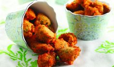 Crispy Lentil Fritters by Chef Michael Smith vegan recipe Indian Food Recipes, Vegetarian Recipes, Cooking Recipes, Healthy Recipes, Budget Recipes, Red Lentil Recipes, Healthy Snacks, Healthy Eating, Middle Eastern Recipes