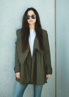#Thebrunswick #gehrich #gehrichmelbourne #coats #winter #womensfashion #italianwoolcashmere #styling