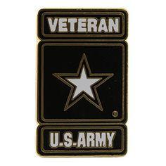 US Army Logo Veteran Pin Army Star Pin Military Gifts for Veterans