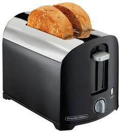 Proctor Silex - 2-Slice Toaster - Black/Silver