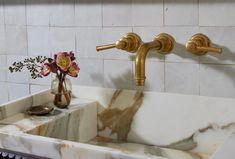 Nob Hill Classic | Studio Gray - Boutique Interior Design Green Marble Bathroom, Small Bathroom, Bathrooms, Bathroom Ideas, Boutique Interior Design, Interior Design Studio, Giant Mirror, Calacatta Gold, Small Shelves