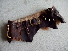 Huntress Utility Belt 3741  leather by ArchaicLeatherworks on Etsy, $250.00
