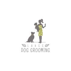 Lakes Dog Grooming needs a new logo! by tasa