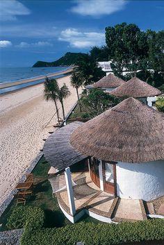 Aleenta Resort, Pranburi, Hua Hin, Thailand. Beautiful Places To Live, Beautiful Hotels, Beautiful Beaches, Beautiful World, Thailand Resorts, Thailand Travel, Koh Phangan, Design Hotel, Boutique Hotels