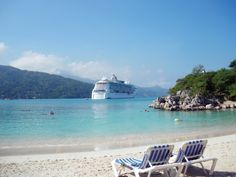 Surf, sun and sand. A perfect day in Labadee.