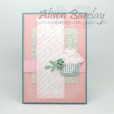 Gothdove Designs - Alison Barclay - Stampin' Up! Australia - Stampin' Up! Sprinkles of Life #birthday #card #stampinup #stampinupaustralia #gothdovedesigns #cupcakes #sparkle