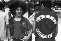 Members of the Ghetto Brothers gang