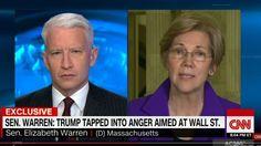 Sen. Elizabeth Warren slams Trump cabinet pick