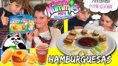 YUMMY NUMMIES Comida en miniatura * Mini hamburguesas POPIN COOKIN  ** The Crazy Haacks - YouTube