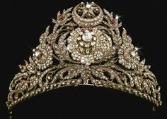 Ottoman Turkish Tiara with Turkish Symbol.