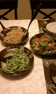 I love hibachi. Mom's night out – Yes please. Celebrating a birthday – No better place. Random Thursday evening – why not. The first time I ever experienced this amazingn… Hibachi Style Fried Rice Recipe, Hibachi Fried Rice, Asian Recipes, Healthy Recipes, Ethnic Recipes, Oriental Recipes, Healthy Meals, Making Fried Rice, Rice Dishes