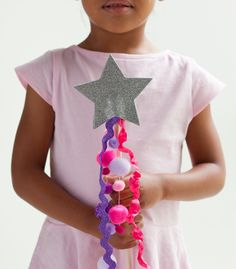 Let your kids touch the stars with this fanciful, shimmery wand.