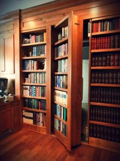 Hidden Bookcase Doors - Secure & Custom - High Tech Secret BookcasesYou can find Bookcase door and more on our website.Hidden Bookcase Doors - Secure & Custom - H.