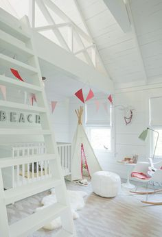 Chic Kids' Rooms. Interior Design: Jenny Wolf Interiors.