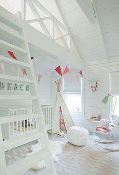 Chic Kids' Rooms. Interior Design: Jenny Wolf Interiors.