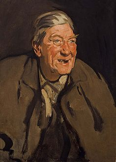 Man Laughing (Portrait of Tom Morris) − Samuel John Peploe − P − Artists A-Z − Online Collection − Collection − National Galleries of Scotla...
