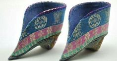 Antique Chinese foot binding shoes
