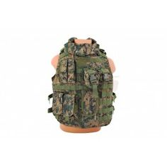 8Fields vesta tactica Interceptor Digital Woodland - Veste Tactice - Articole Vestimentare - Echipament Tactic