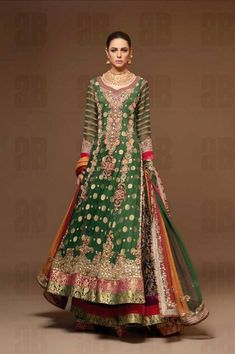 Pakistani Wedding Dresses 2013 Ideas By Ahmad Bilal