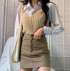 g e o r g i a n a - korean fashion aesthetic outfits minimal minimalist minimalistic soft kfashion ulzzang girl 얼짱 - Korean Outfits, Mode Outfits, Fashion Outfits, Fashion Men, Korean Dress, Grunge Outfits, Korean Clothes, Girl Outfits, Korean Outfit Summer