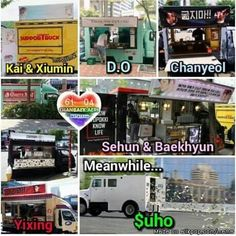 Suho be like: Because food carts is so last year and too mainstream,why not we try o make money as confetti. -Ctto-