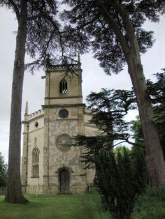 St Mary's Church, Hartwell. The church was built between 1753 and 1755 to a design by Henry Keene for Sir William Lee. It is an early example of Gothic Revival architecture and was planned to be a feature in the grounds of Hartwell House.