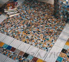 #mosaic #decor #interior #design #Мозаика Ecoceramica Maestri Ceramisti, EMF40C