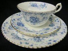 Victorian Period - Early Samuel Radford tea trio
